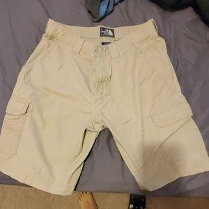 Northface cargo shorts